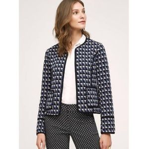 Hei Hei Anthropologie Vala Jacket Blazer Geo M